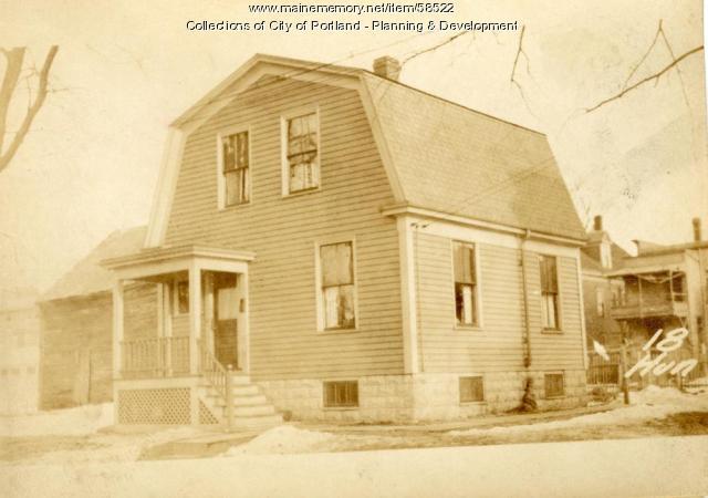 16-18 Huntress Street, Portland, 1924