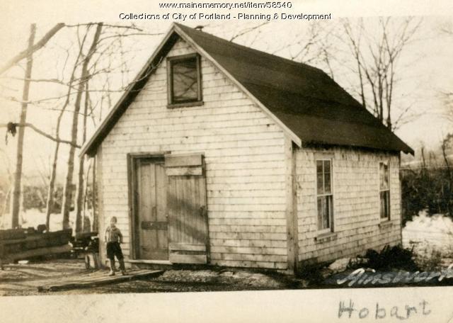 Camp, Hobart Street, Portland, 1924