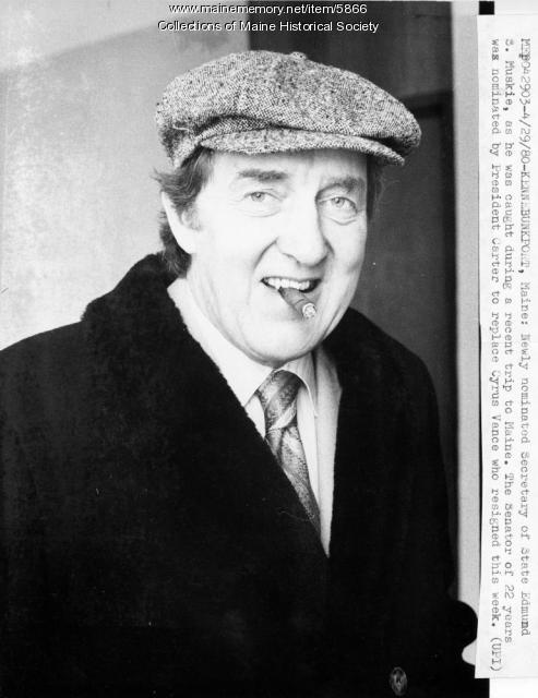 Edmund S. Muskie, Kennebunkport, 1980