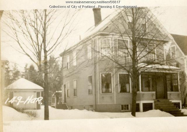 149 Hartley Street, Portland, 1924