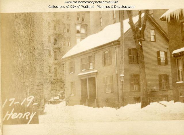 17-19 Henry Street, Portland, 1924