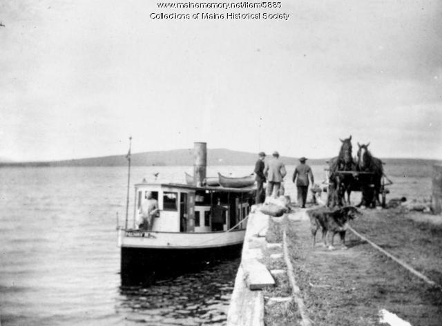 Steamer Henry M, Lily Bay, Moosehead Lake