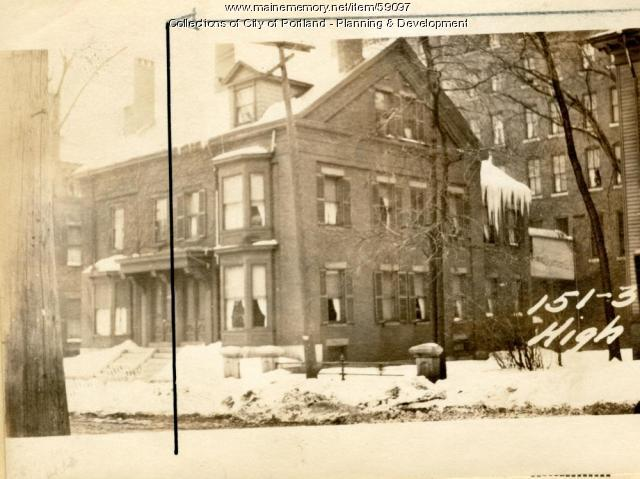 149-151 High Street, Portland, 1924