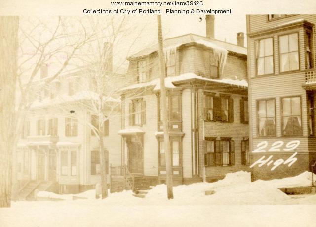 229 High Street, Portland, 1924