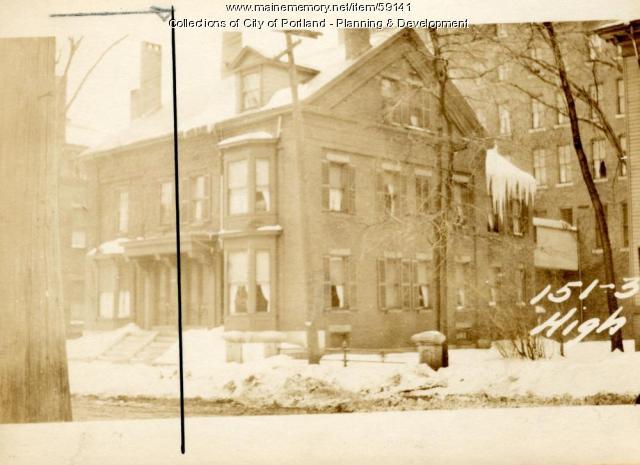153-155 High Street, Portland, 1924