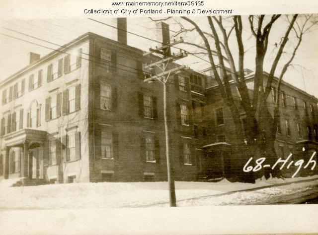 56-70 Danforth Street, Portland, 1924