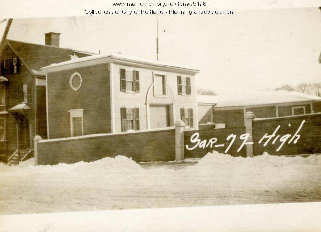 71-83 High Street, Portland, 1924