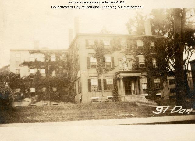 91 Danforth Street, Portland, 1924