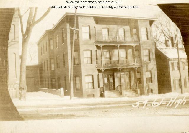 59-61 High Street, Portland, 1924