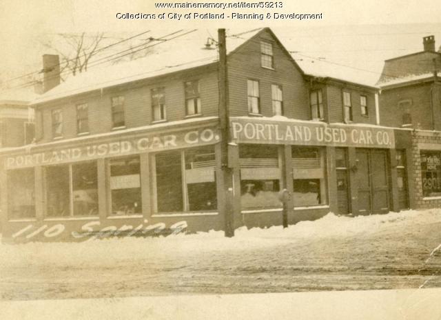 100-102 High Street, Portland, 1924