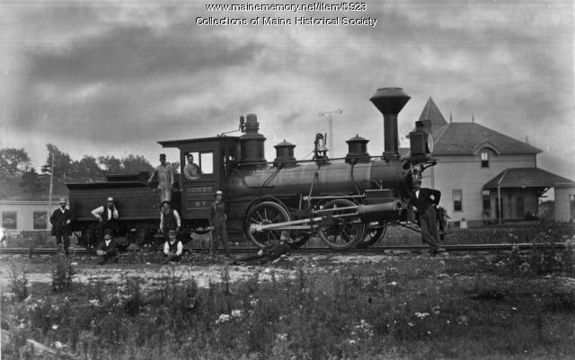 Boston & Maine Railroad's engine 'Comet'