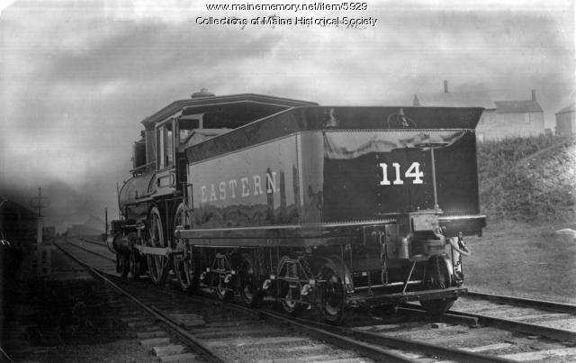 Eastern Railroad's engine #114