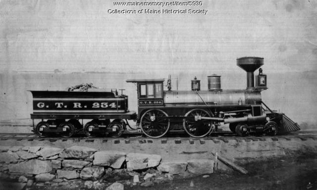 Grand Trunk Railroad's engine #234