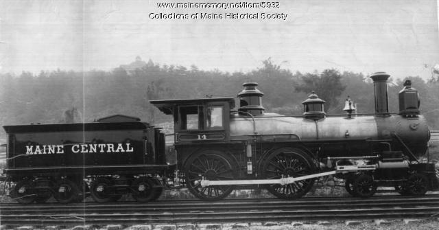 Maine Central Railroad's locomotive #14