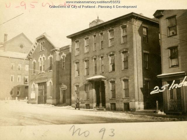93-95 India Street, Portland, 1924