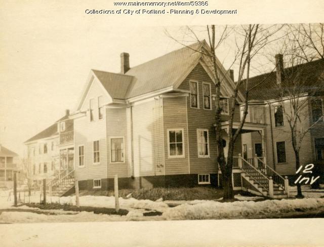 12 Inverness Street, Portland, 1924
