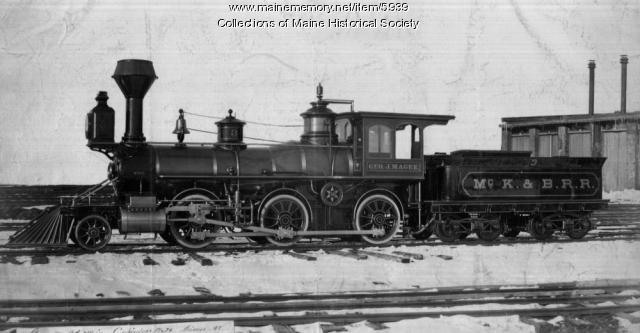 The Geo. J. Magee steam locomotive