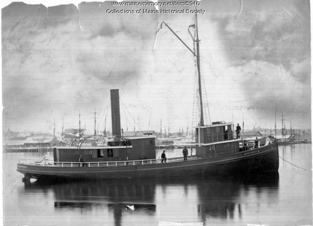 Geo. W. Beale  in Portland Harbor