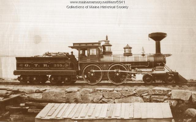Grand Trunk Railroad Engine #255