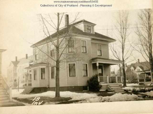 18 Inverness Street, Portland, 1924