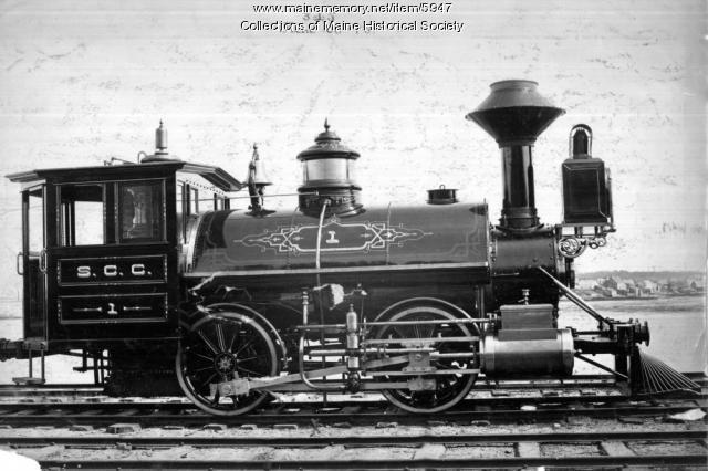 Steel Co. of Canada Railroad locomotive #1