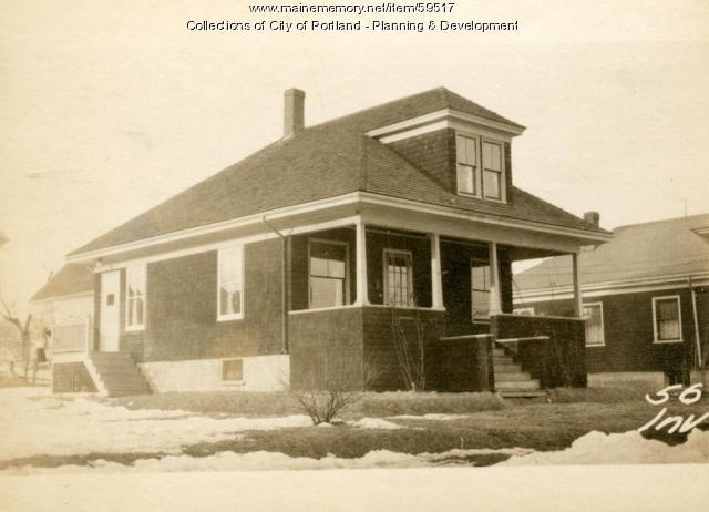 52-56 Inverness Street, Portland, 1924