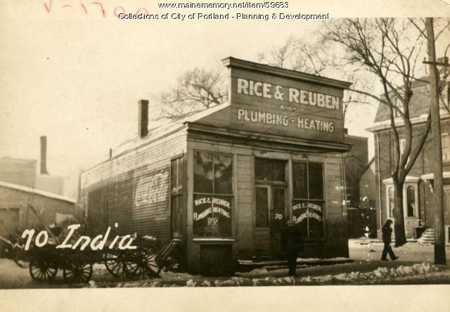 66 India Street, Portland, 1924