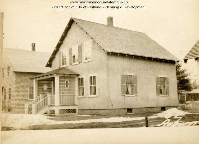 62 Jackson Street, Portland, 1924