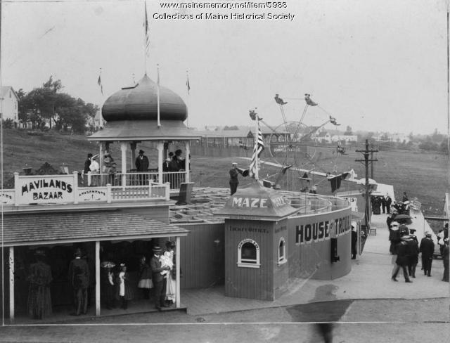 Seaside Park, Old Orchard Beach, ca. 1900