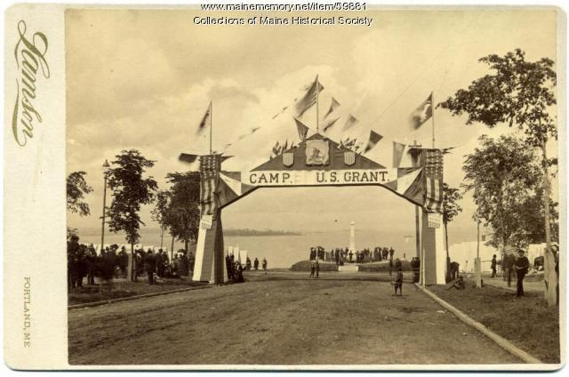 Camp U.S. Grant, Portland, 1885