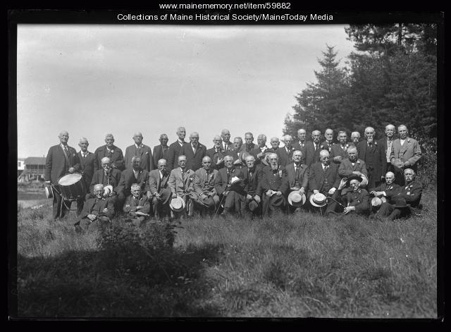Maine Infantry reunion, 1923