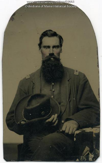 Isaac A. Pennell, New Portland, ca. 1863