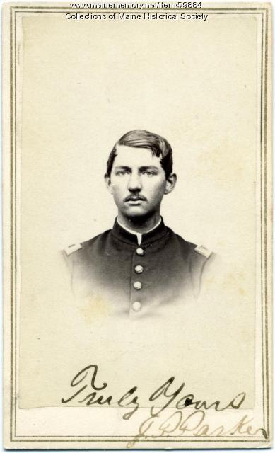 Lt. Jabez P. Parker, 16th Maine Infantry, ca. 1863