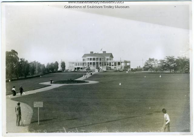 Cape Cottage Casino, Cape Elizabeth, ca. 1900