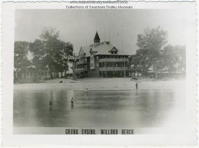 Grand Casino, Willard Beach, South Portland, ca. 1897