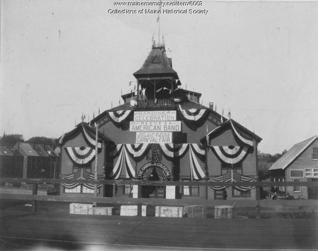 Gardiner coliseum, 1899