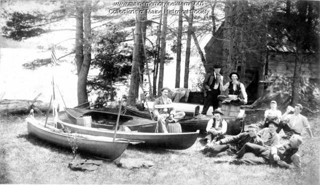 Brunswick Canoe Club, ca. 1890
