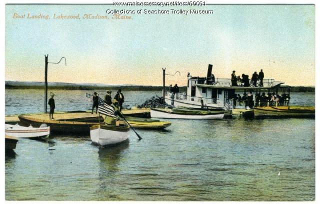 Boat landing, Lakewood Park, Madison, ca. 1915