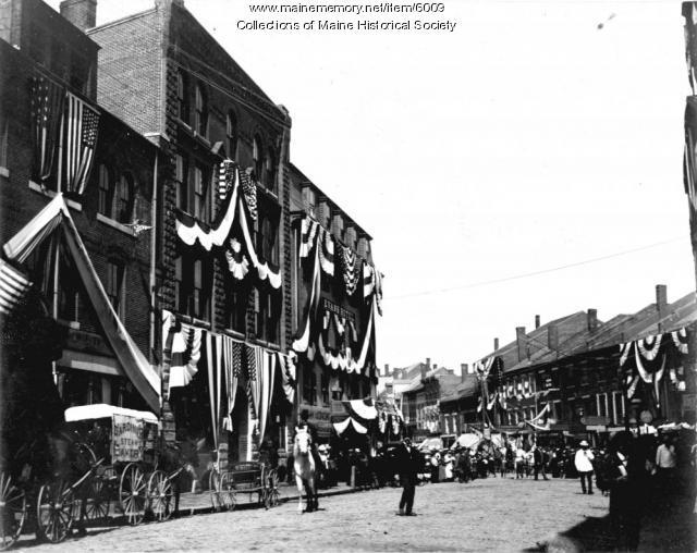 Semi-centennial parade, Gardiner, 1899