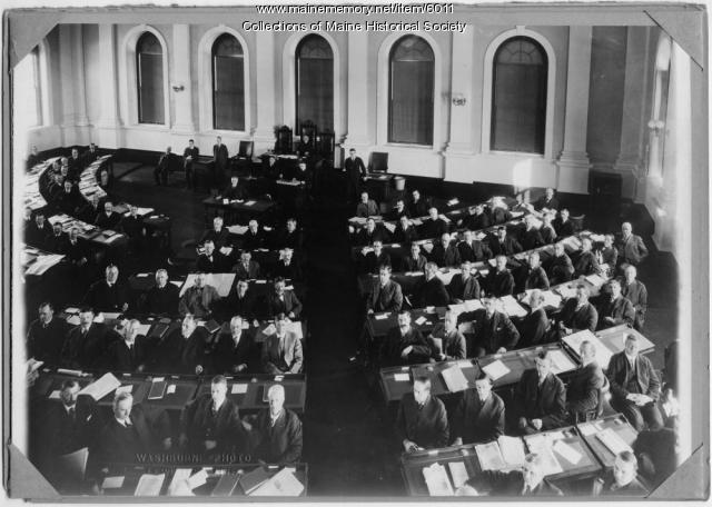 Maine Legislature, ca. 1917