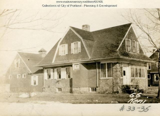 66 Kenilworth Street, Portland, 1924