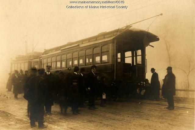 Portland Railroad Company car, 1920
