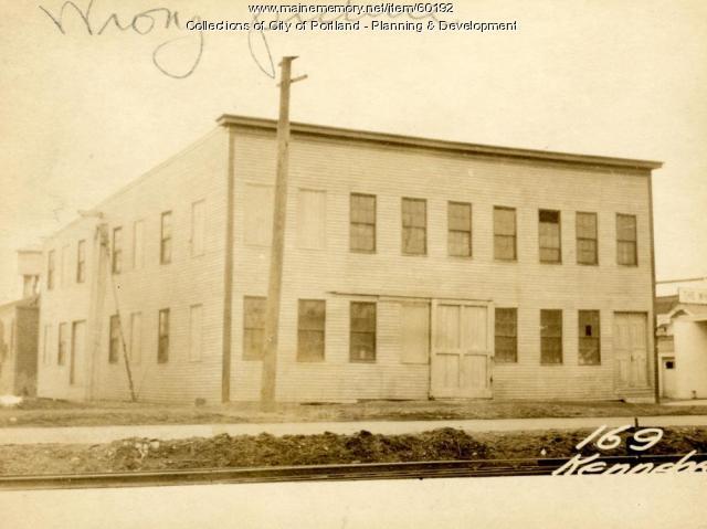 183-201 Kennebec Street, Portland, 1924