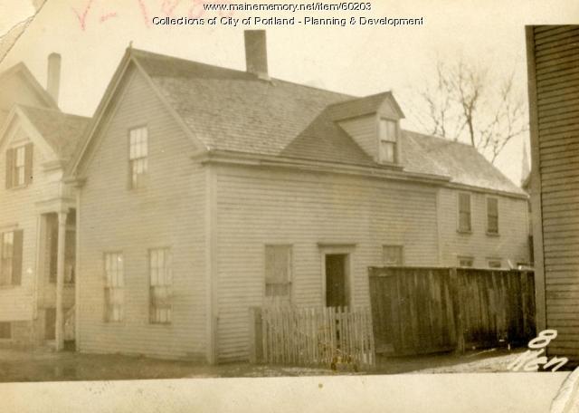 8 Kennebec Street, Portland, 1924