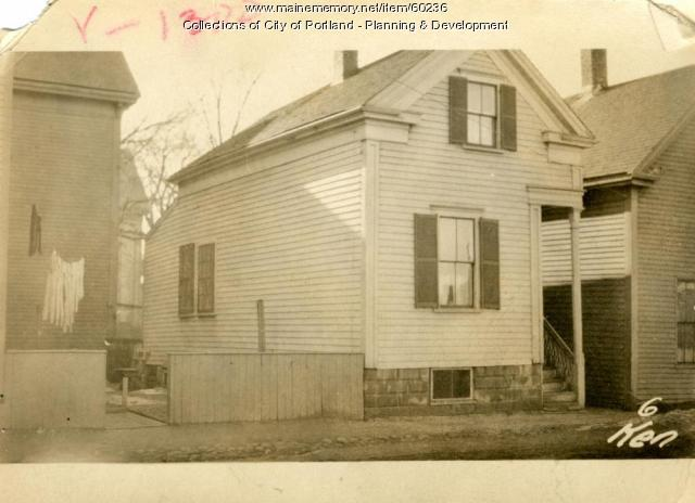 6 Kennebec Street, Portland, 1924