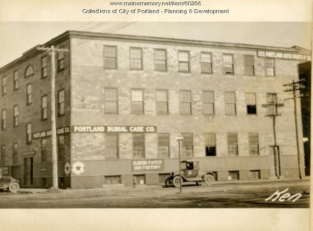 111-125 Kennebec Street, Portland, 1924