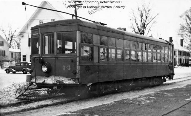 Bangor Hydroelectric Co. car No. 14