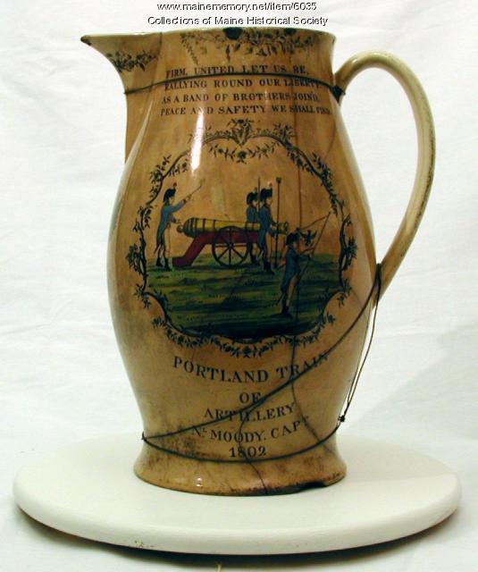 Portland Artillery Pitcher