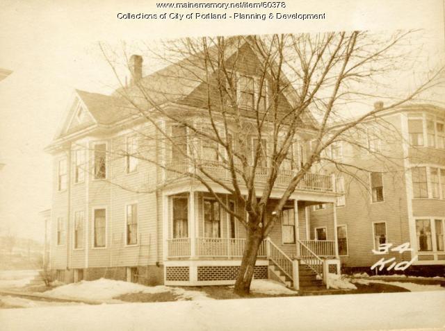 34 Kidder Street, Portland, 1924
