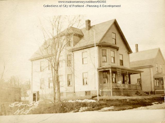 56 Kidder Street, Portland, 1924